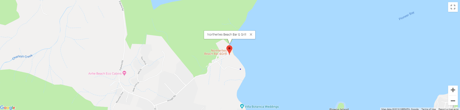 Northerlies Map